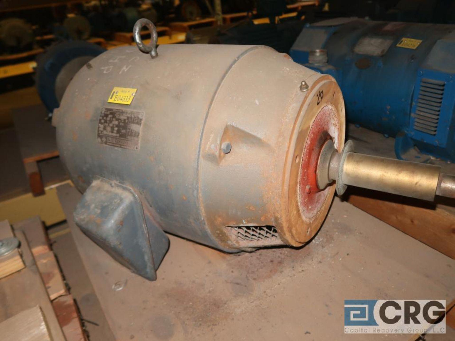 Lot of (4) assorted 20 HP motors (Motor Building) - Image 4 of 4
