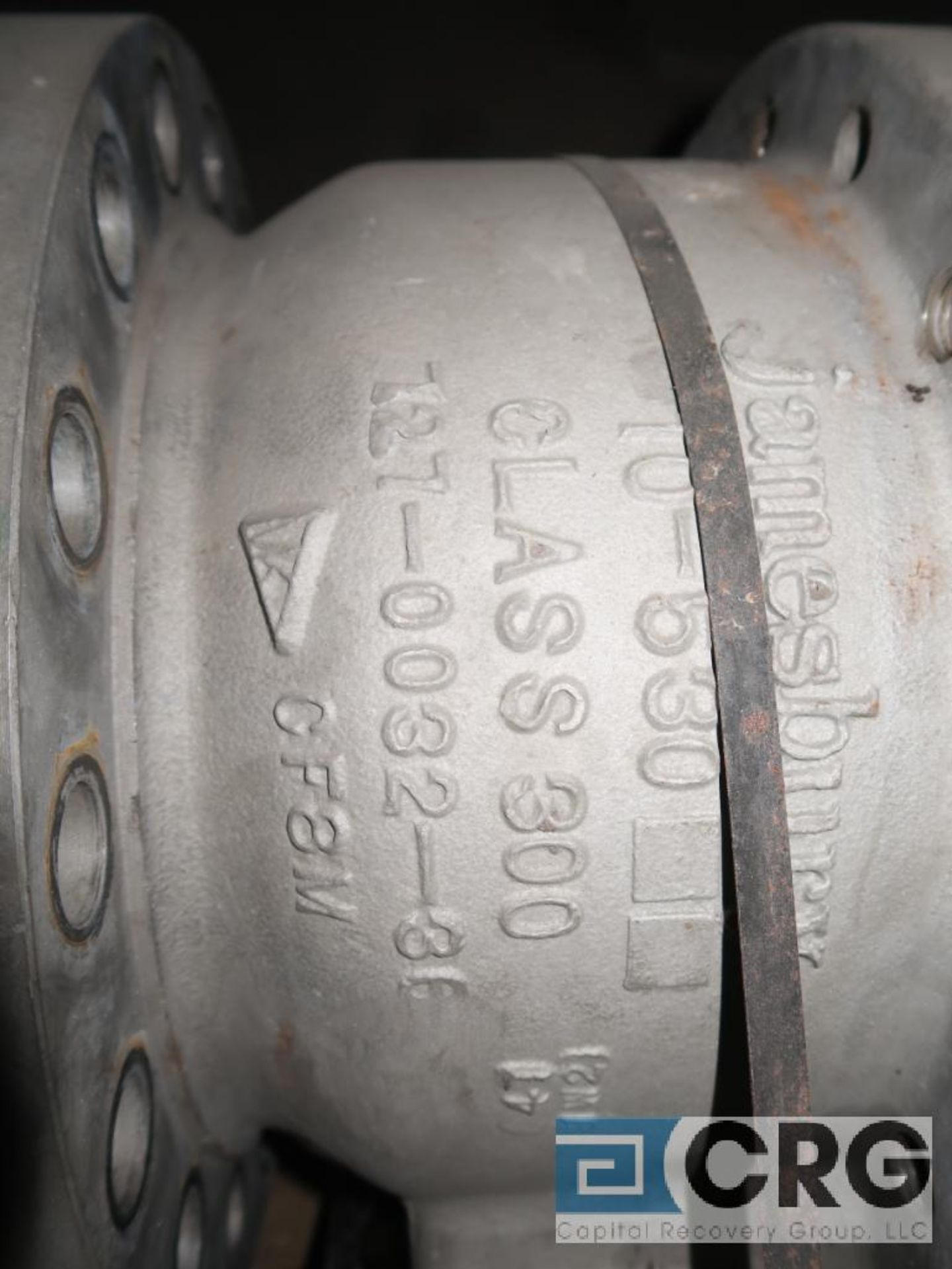 Jamesbury 10 in. stainless pneumatic ball valve, 300 psi (Off Site Warehouse) - Image 2 of 2