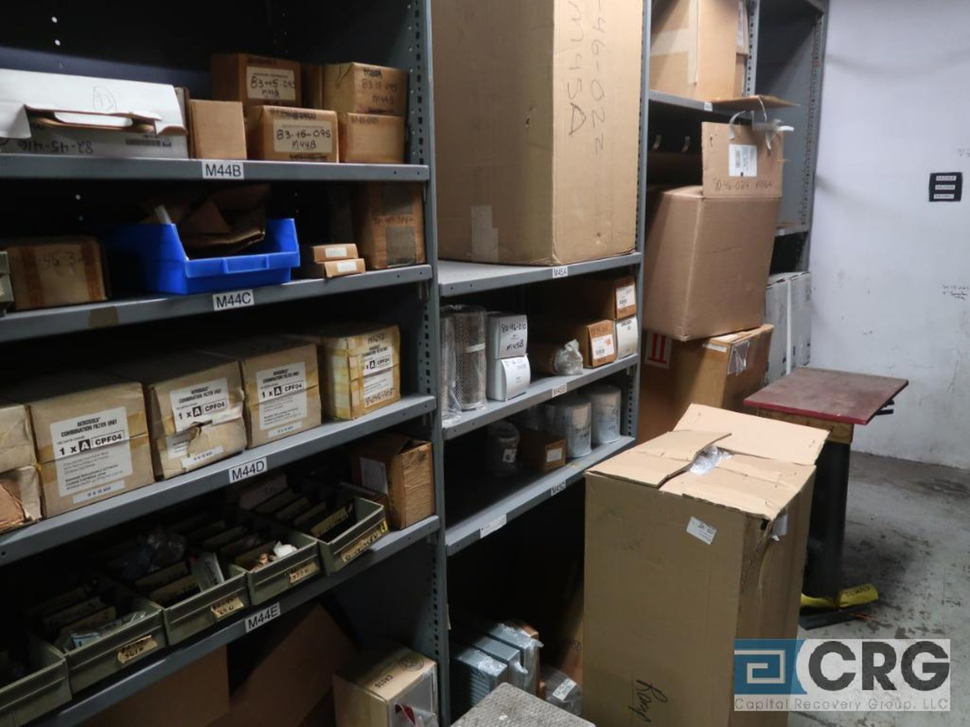 Lot of (20) sections with assorted parts including valve gasket, conveyor, roller, sight glass, - Image 8 of 12