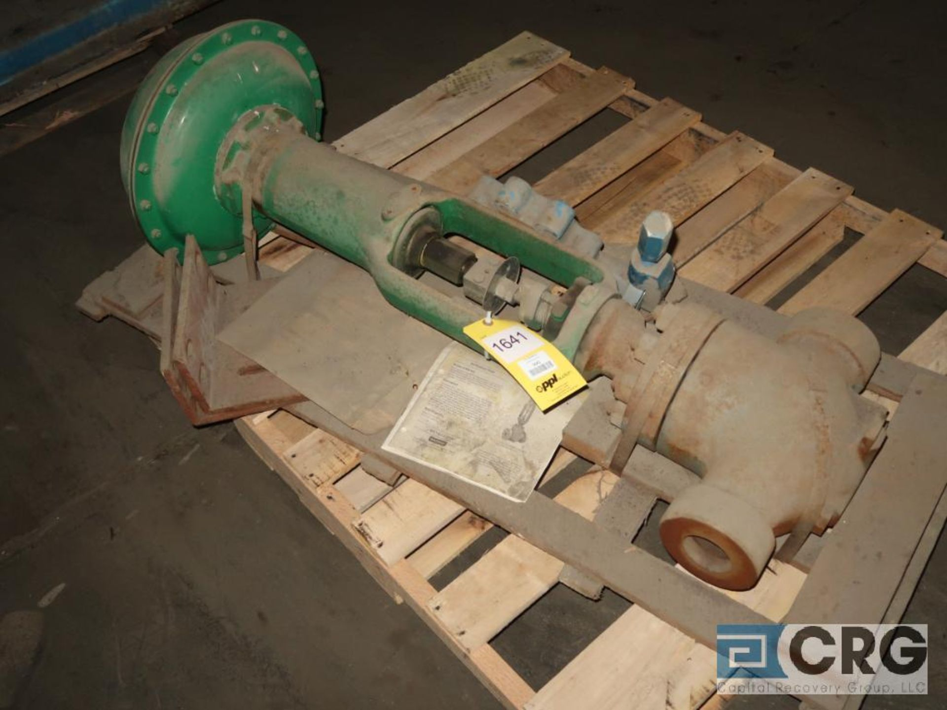 Fisher 667 2 1/2 in. actuator ball valve, 65 psi, s/n 8968916 (Off Site Warehouse) - Image 2 of 2