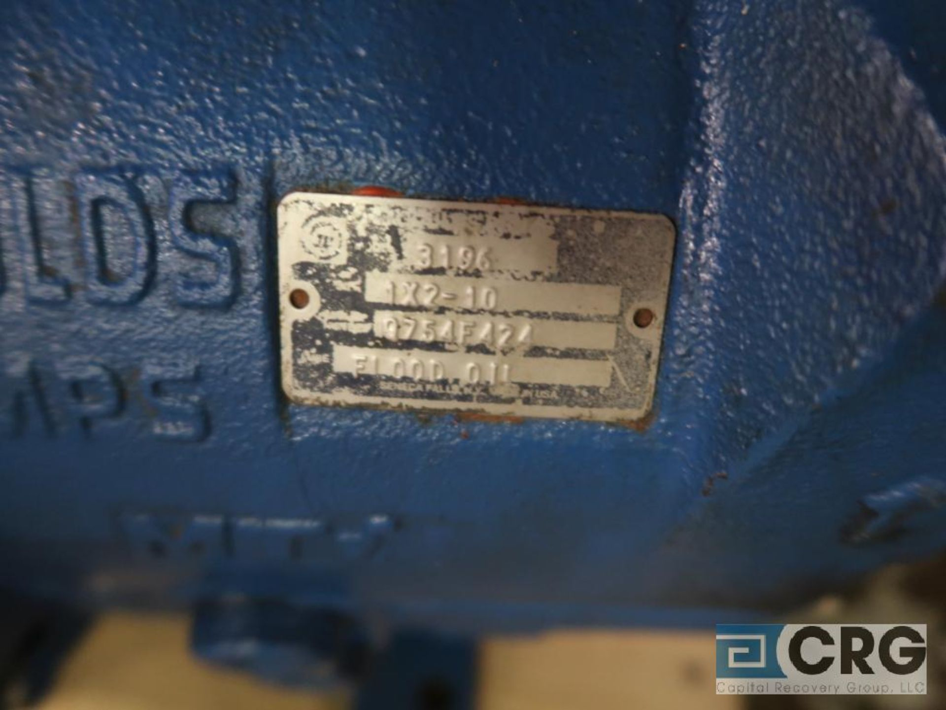 Lot of (3) Goulds 3196 10 in. pumps, (2) MT, and (1) MTX (Basement Stores) - Image 2 of 4