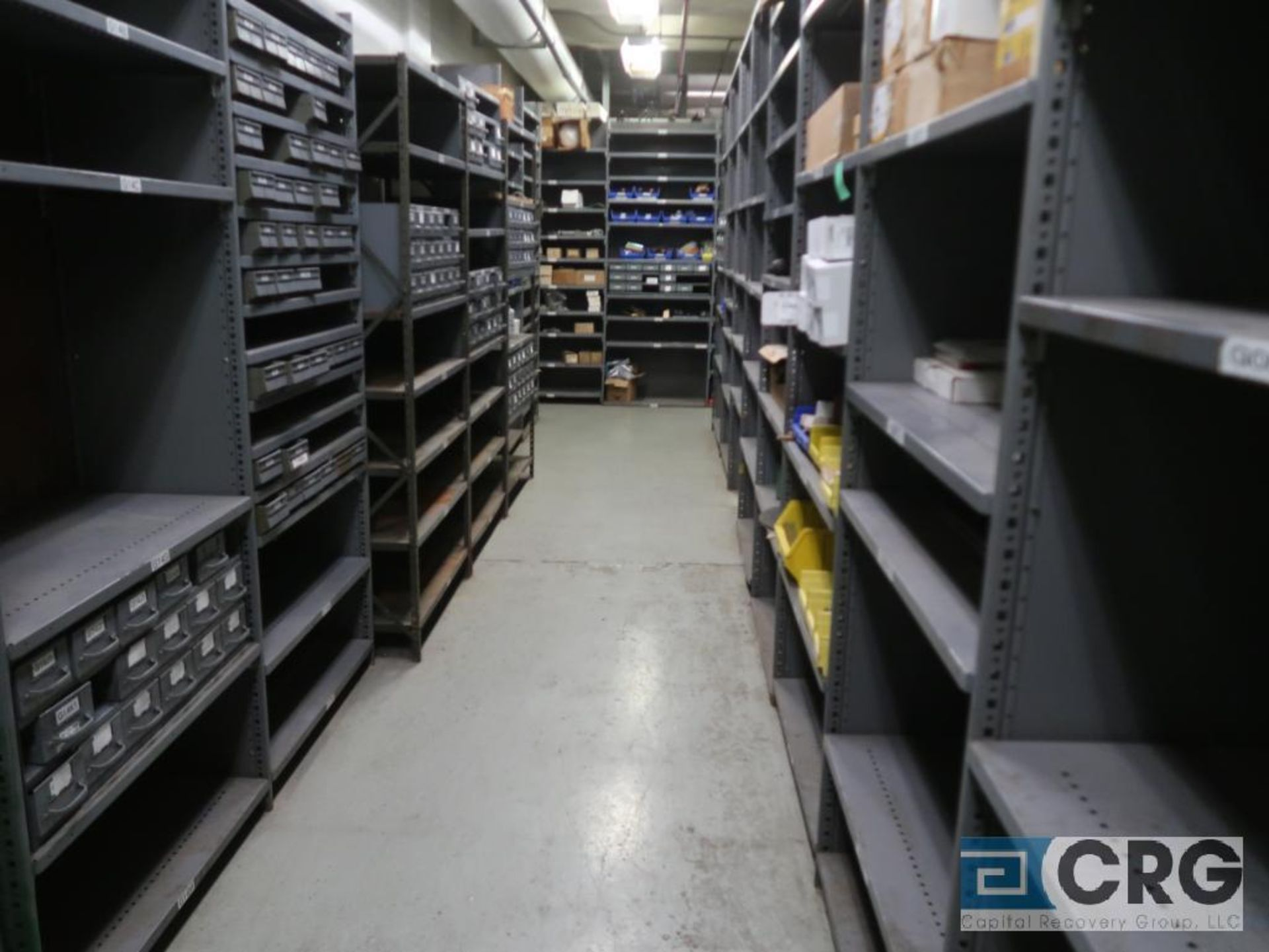 Lot of (135) sections metal shelving (Front of Stores Area) - Image 6 of 9