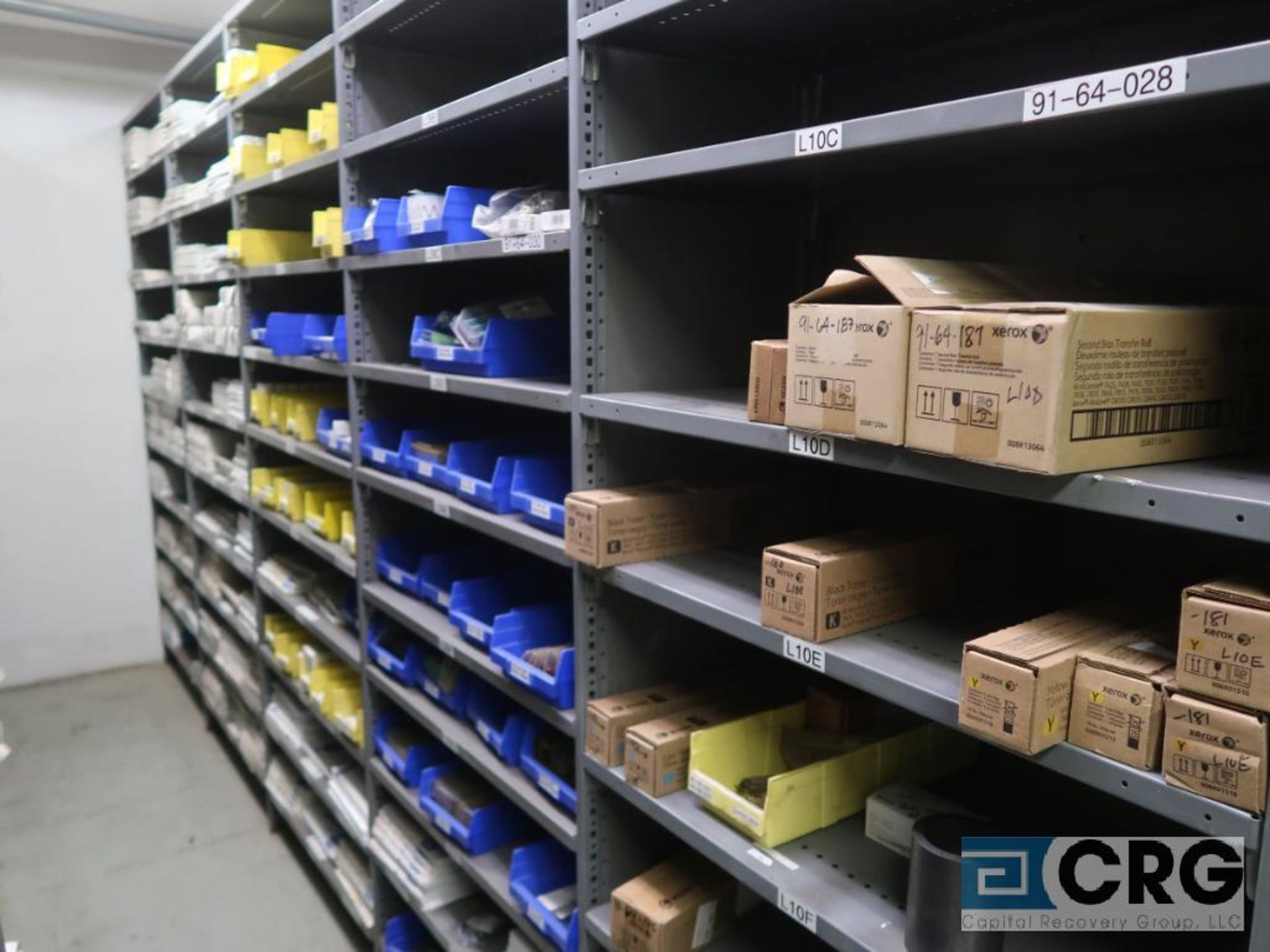 Lot of (15) sections with chart recording chat, pen, and toners-CONTENTS ONLY (Store Basement) - Image 2 of 9