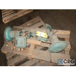 Lot of (2) Honeywell 870020-012-1115 electro pneumatic 1/2 in. ball valves (Off Site Warehouse)