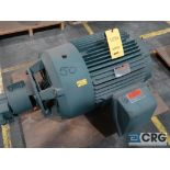 Reliance Electric Duty Master XE Extra Efficient A-C motor, 50 HP, 1,785 RPMs, 460 volt, 3 ph., 364T
