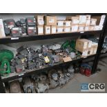 Lot of miscellaneous items including Fisher Fieldview controls, valves, (2) Parker air cylinders,