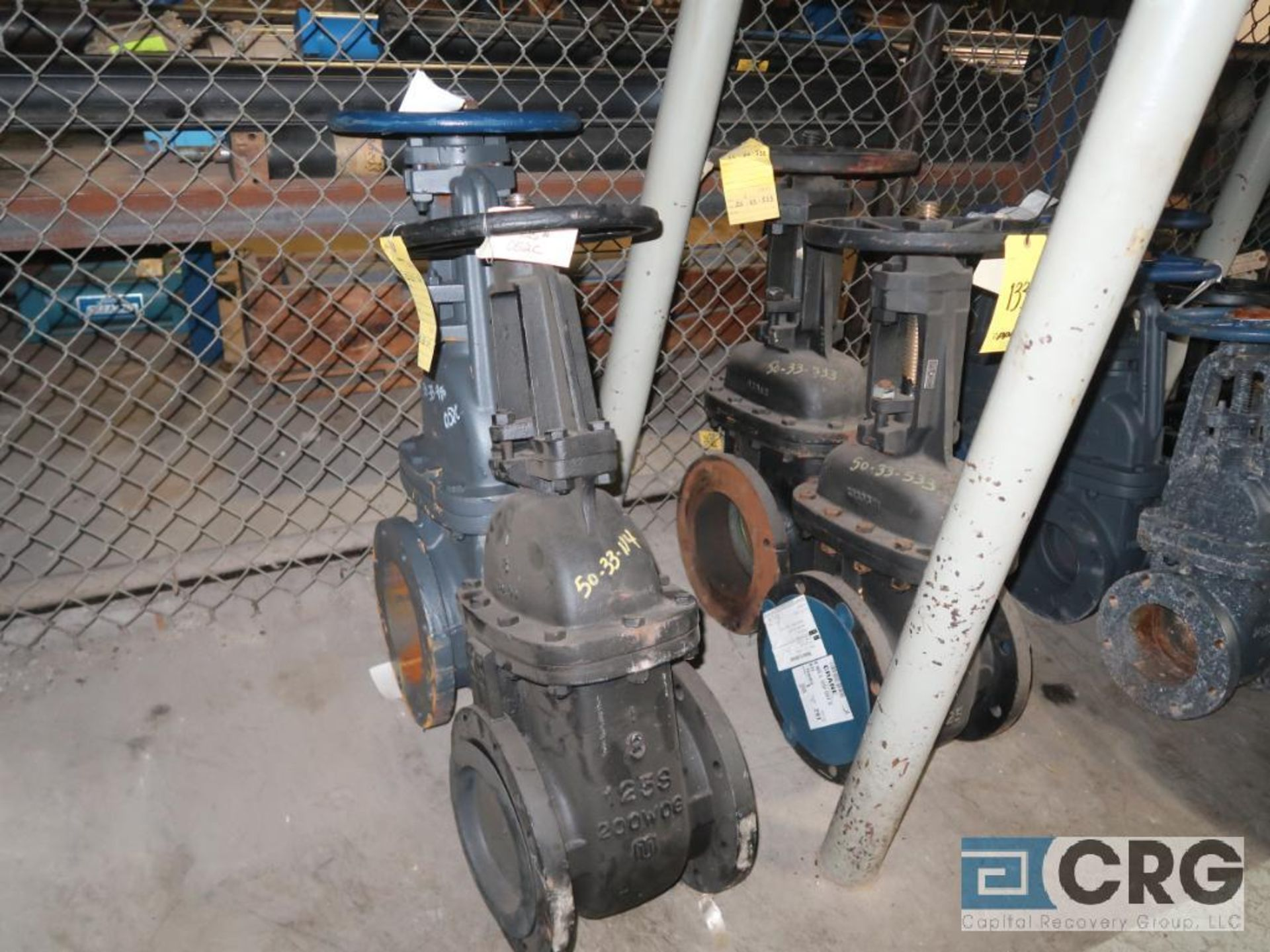 Lot of (7) ball valves, (4) 8 in., (1) 12 in., and (2) 6 in. (Store Basement) - Image 2 of 3
