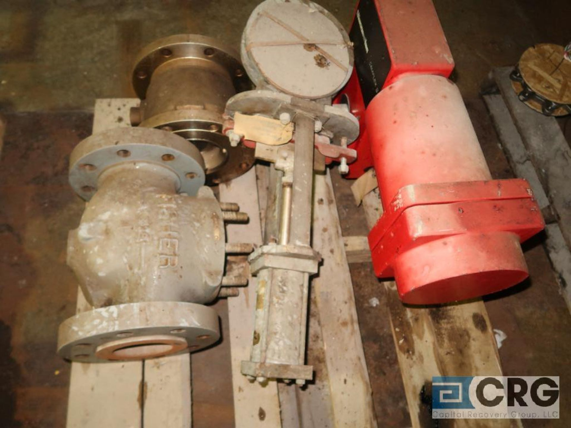 Lot of (11) assorted valves on (2) pallets-shelving not included (496 Dock Area) - Image 3 of 3