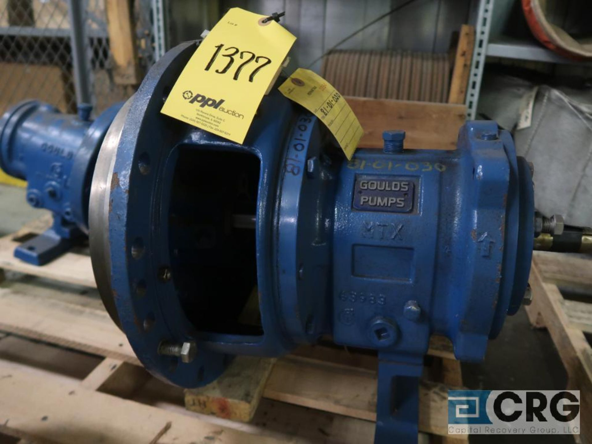 Lot of (3) Goulds 3196 pumps, (2) 13 in.-(1) LTX & (1) MTX, and (1) 10 in. MT/MTX (Basement Stores) - Image 3 of 4