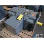 Reliance Super RPM DC motor, 200 HP, 1,750 RPMs, 500 volt, B0408ATOZ frame (Finish Building)