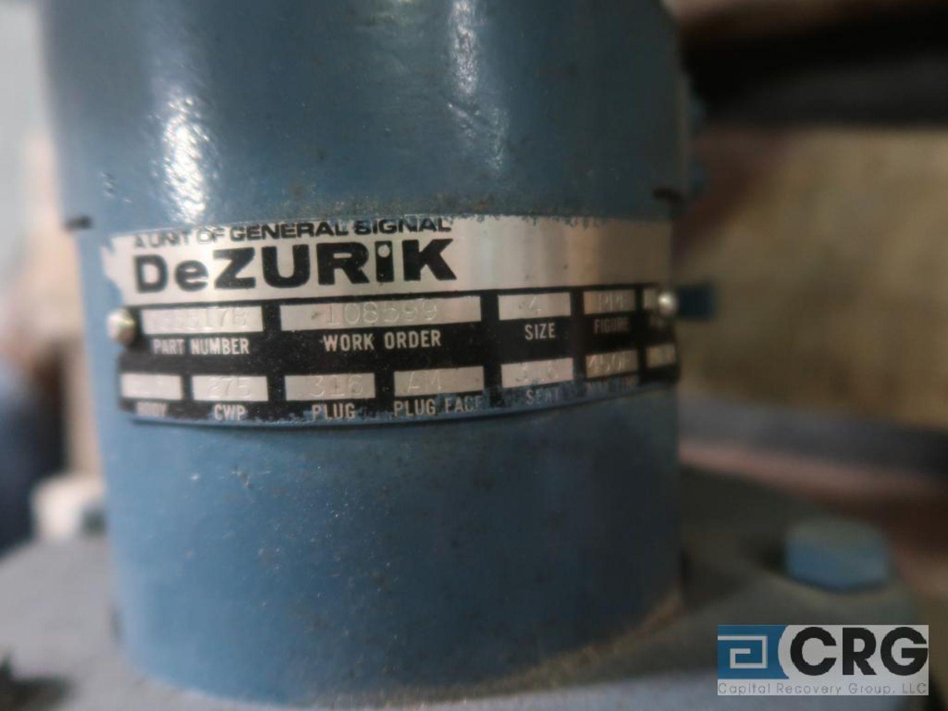 DeZurik stainless 4 in. actuator valve (Finish Building) - Image 2 of 2