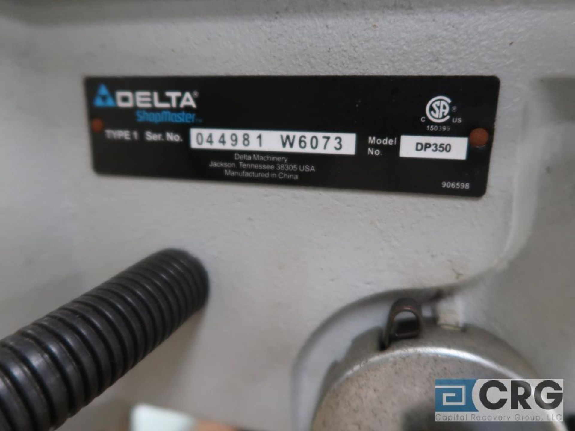 """Lot of ass't Delta bench top tools including (1) 10"""" vertical band saw m/n BS150LS, (1) 12"""" vertical - Image 2 of 2"""
