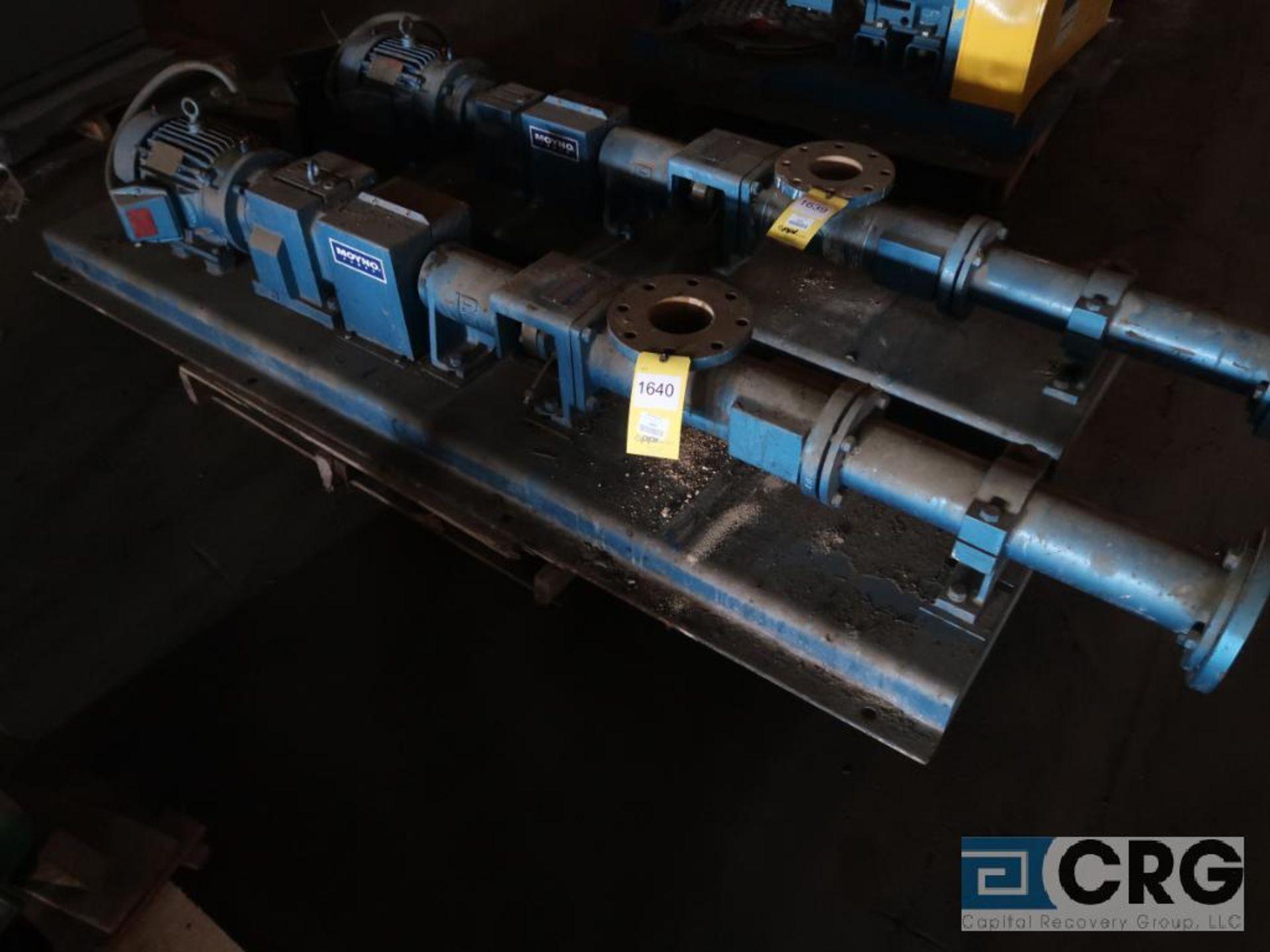 Moyno A2FCDY3DPC progressive cavity pump with 3 HP motor, s/n AS2432899BG (Off Site Warehouse)