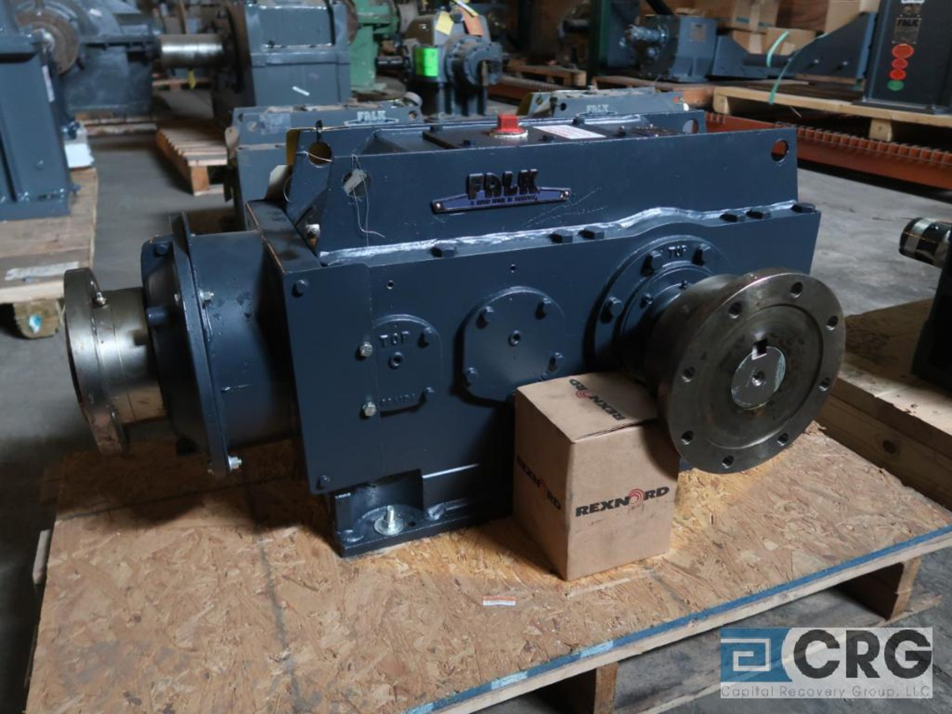 Falk 2060YB2 LB gear drive, ratio-5.577, input RPM 1,750, output RPM 313.8, service rate HP. 125, - Image 2 of 3