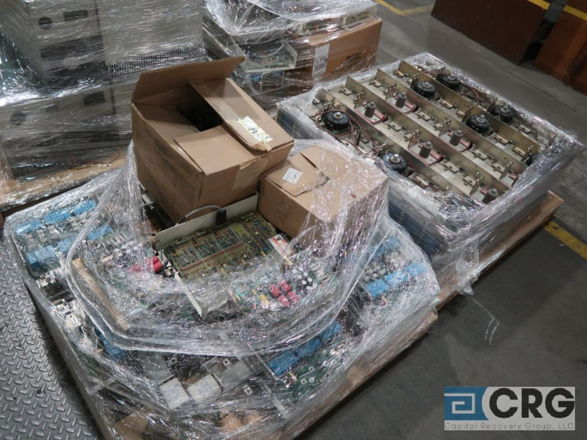 Lot of (13) pallets with electrical drive system with (18) ABB drives, Reliance, Auto Max SA3000 - Image 3 of 4