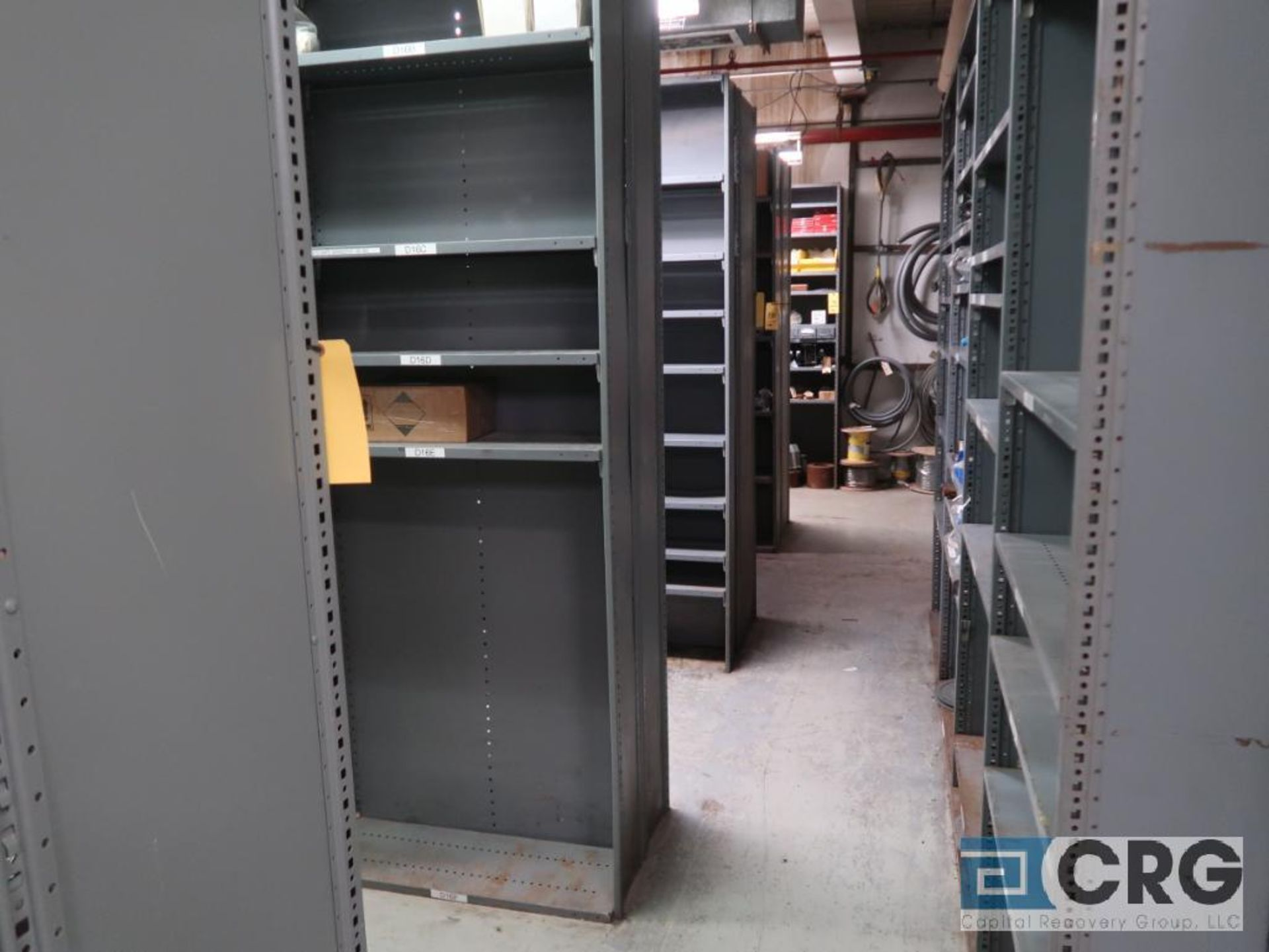 Lot of (135) sections metal shelving (Front of Stores Area) - Image 4 of 9