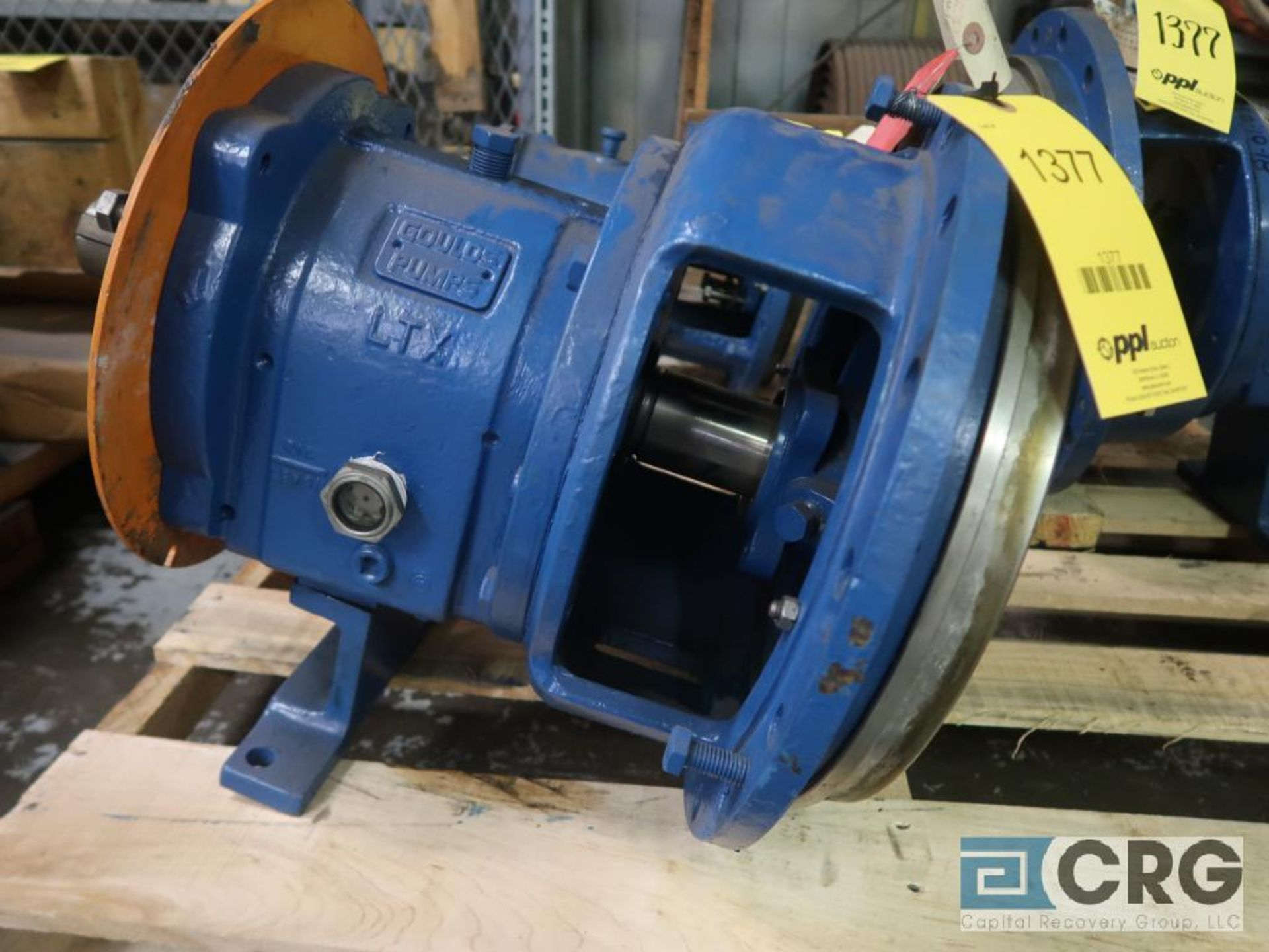 Lot of (3) Goulds 3196 pumps, (2) 13 in.-(1) LTX & (1) MTX, and (1) 10 in. MT/MTX (Basement Stores) - Image 2 of 4