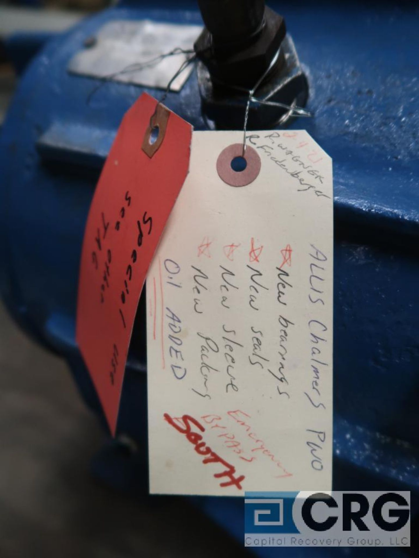 Allis Chalmers F8MI 16 in. pump (Basement Stores) - Image 4 of 4