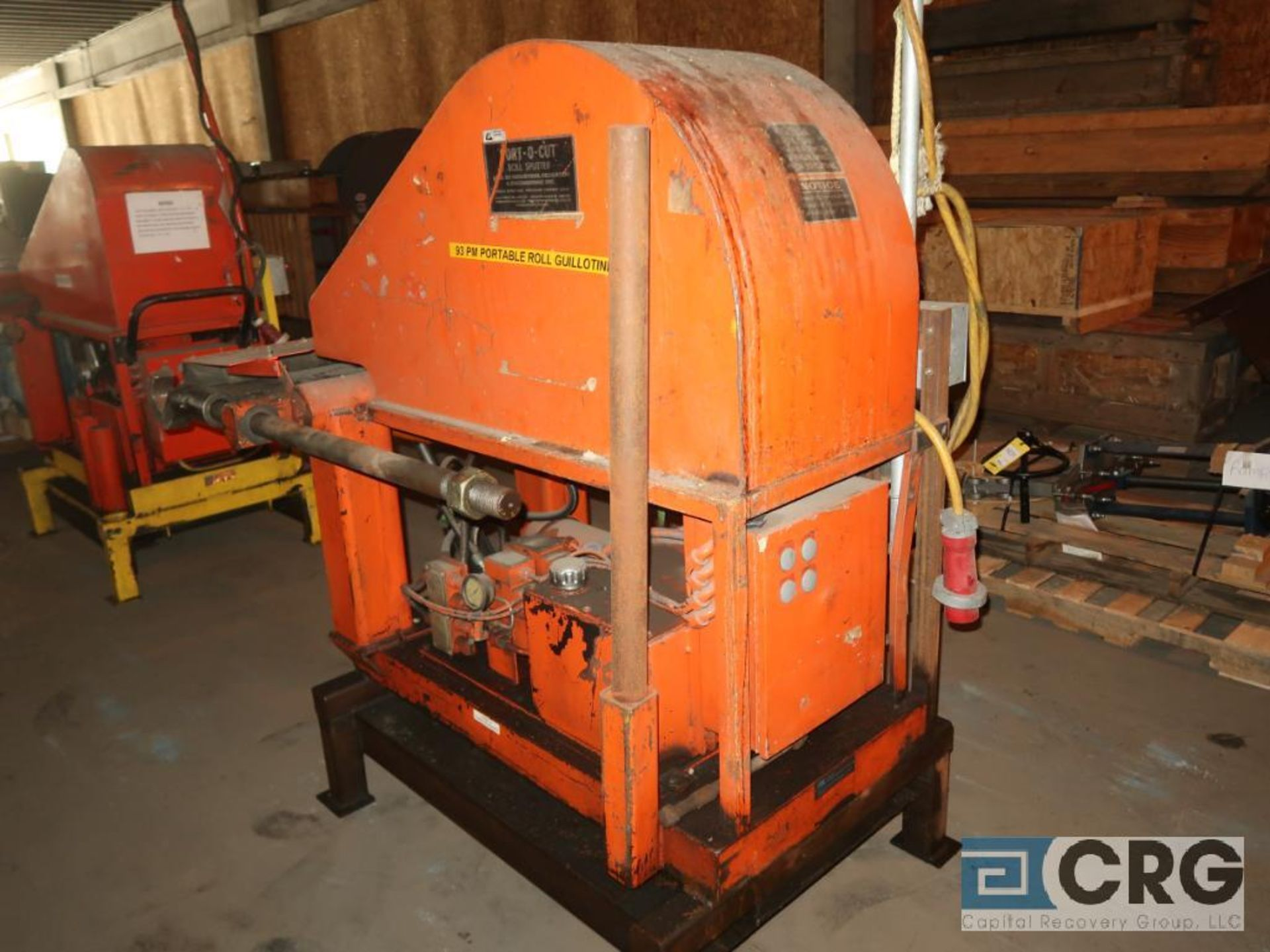 IRE Port O Cut roll guillotine, 36 in. blade, s/n 85562 (Off Site Warehouse) - Image 3 of 3
