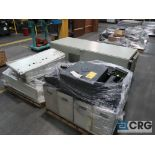 Lot of (13) pallets with electrical drive system with (18) ABB drives, Reliance, Auto Max SA3000