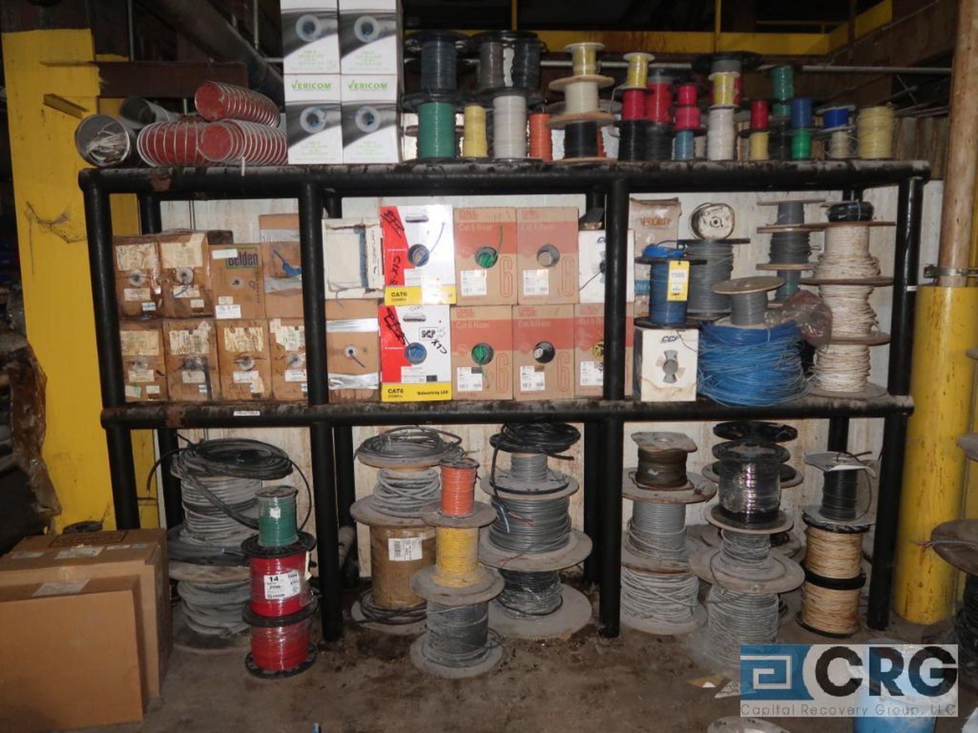 Lot of wire, assorted types and sizes (496 Dock Area)