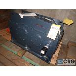 Falk 345 A 2C gear drive, ratio-6.793, input RPM 1,750, output RPM 257.62, service rate HP. 250, s/n