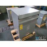 HPS drive isolation transformer, 63 KVA, 480 volt, s/n 00536277 (Finish Building)