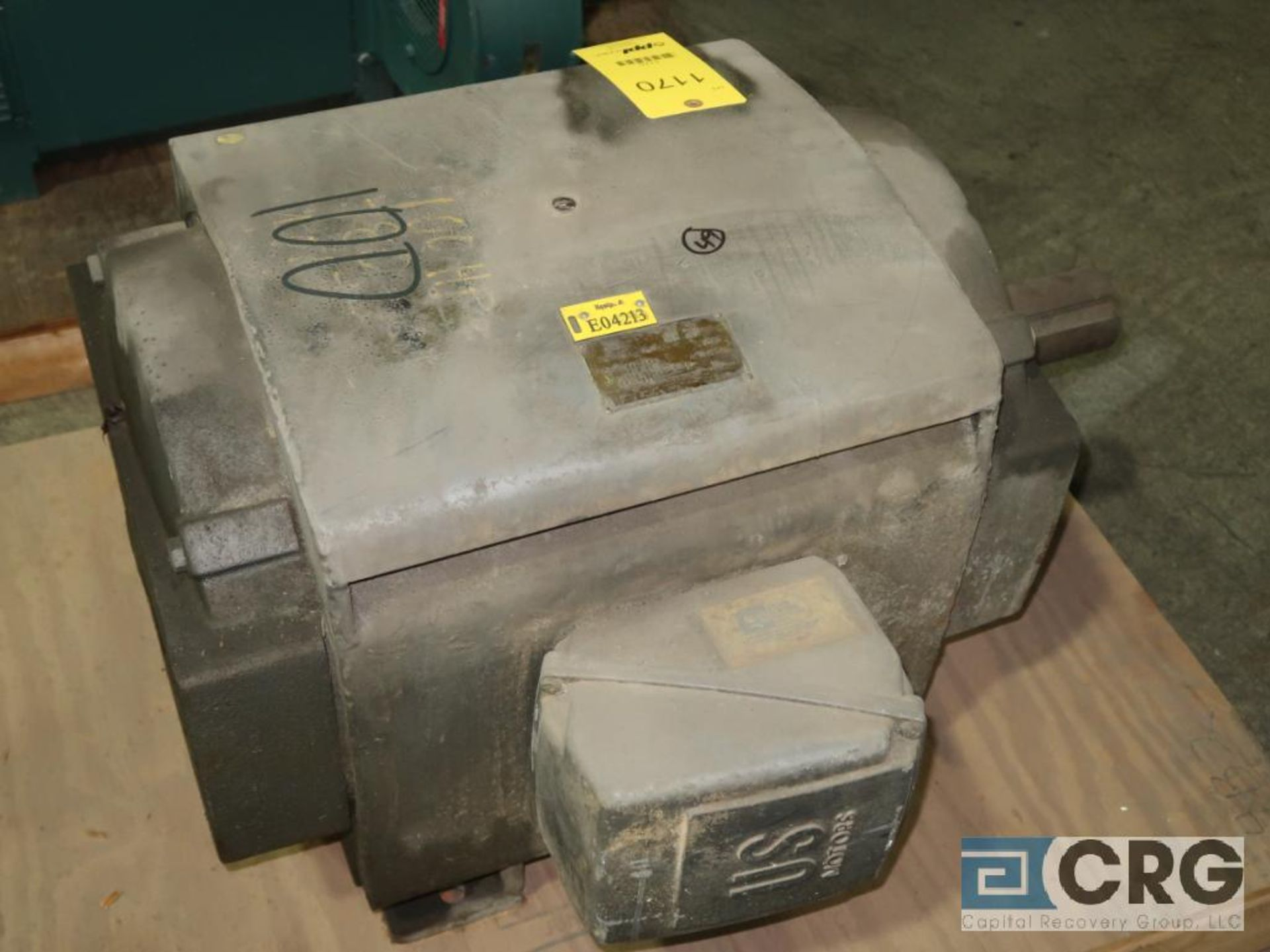 U.S. Electric Motors electric motor, 100 HP, 1,780 RPMs, 230/460 volt, 3 ph., 404T frame (Finish