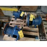 Lot of (3) Goulds 3196 pumps, (2) 13 in.-(1) LTX & (1) MTX, and (1) 10 in. MT/MTX (Basement Stores)
