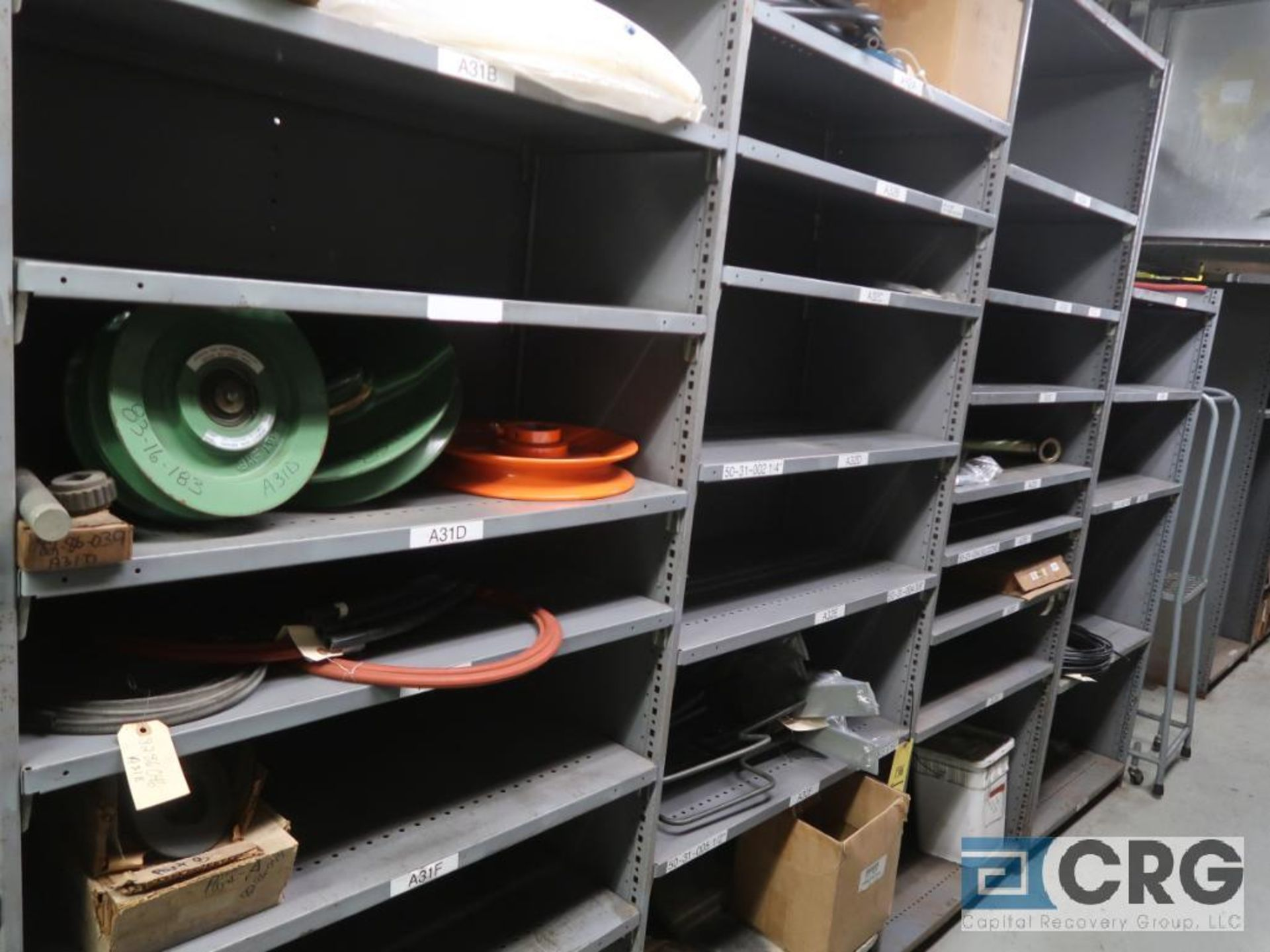 Lot of (14) sections with cable, chain, pulley, and conduit-CONTENT ONLY (Store Basement) - Image 10 of 10