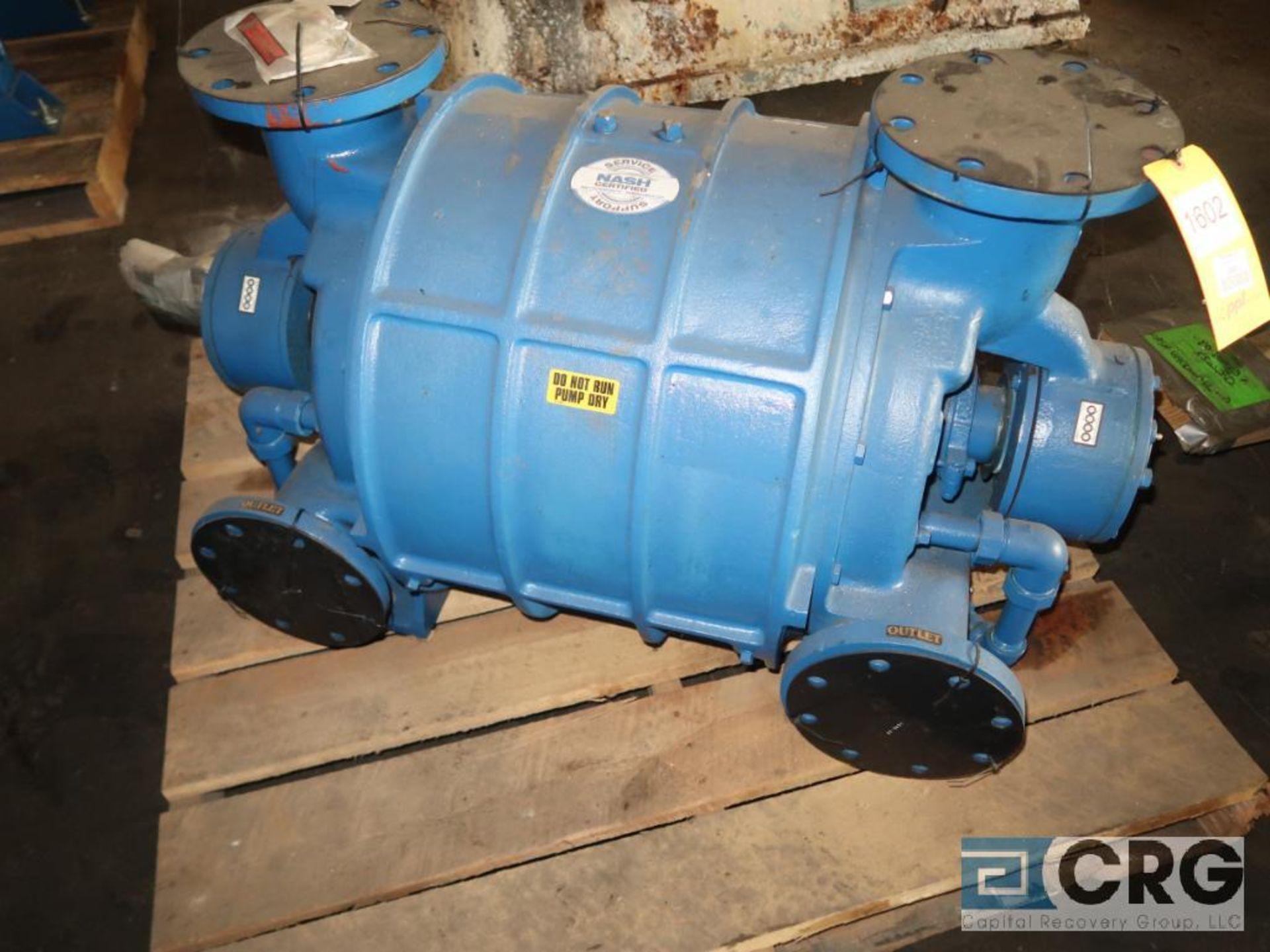 Nash CL1002 vacuum pump, remanufactured year 2007, s/n 85U0918 (Off Site Warehouse)