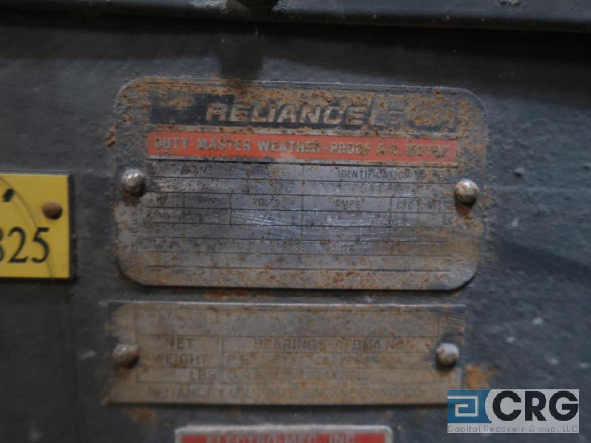 Reliance motor, 400 HP, 1,185 RPM, 2,600 volt, equipment #E00825 (496 Dock Area) - Image 2 of 2