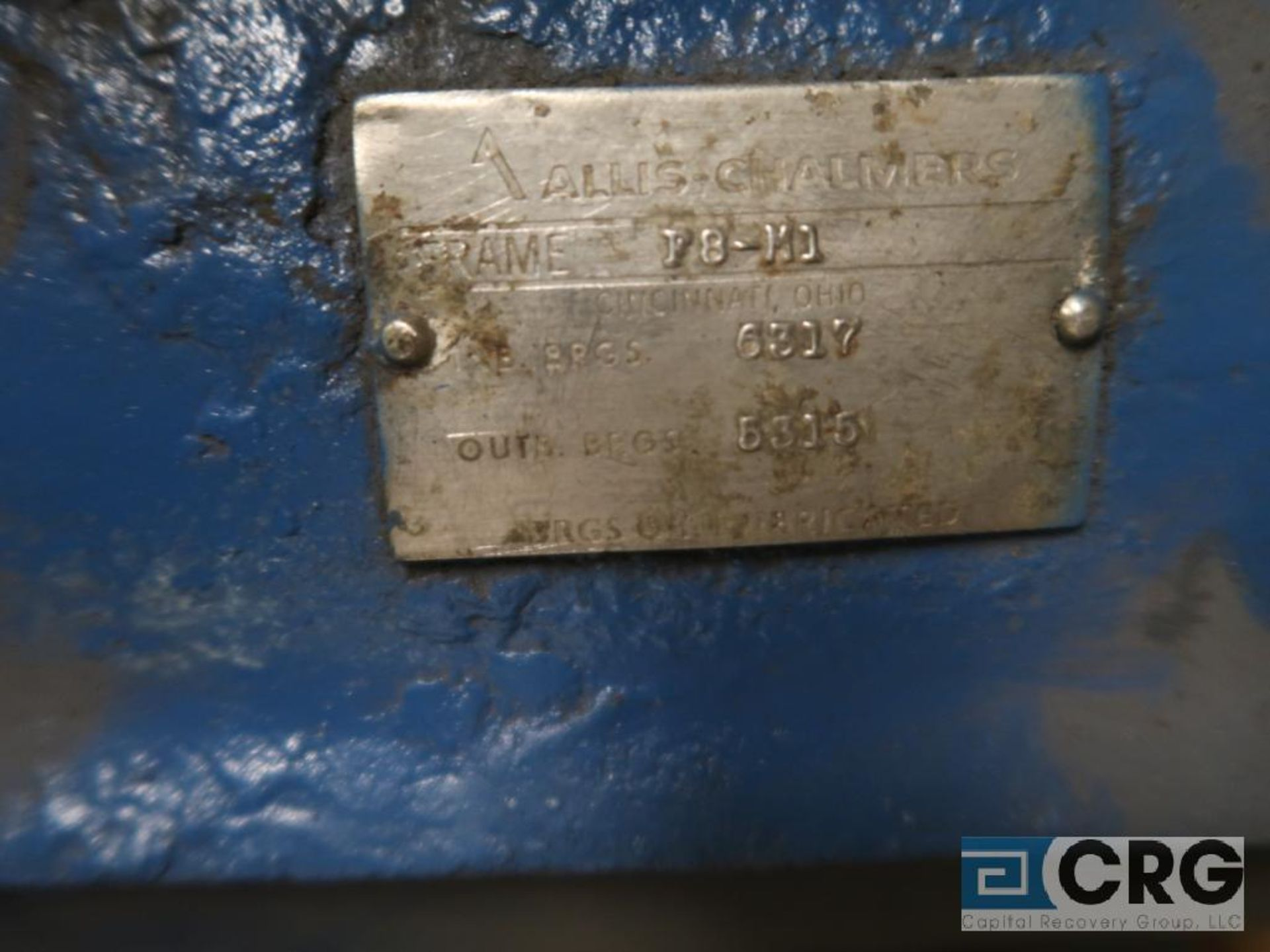 Allis Chalmers 78 MI 16 in. pump (Basement Stores) - Image 3 of 3