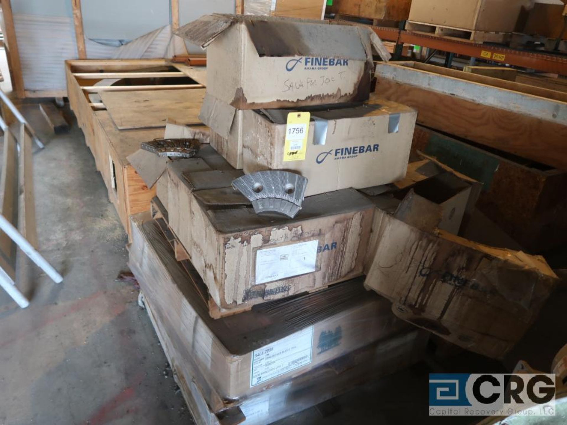 Refiner plates (Next Bay Cage Area)