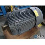 Reliance Duty Master A-C motor, 150 HP, 3,570 RPMs, 460 volt, 3ph., 445TS frame (Finish Building)