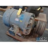 Delco electric motor, 50 HP, 1,185 RPMs, 220/440 volt, 3 ph. (Finish Building)