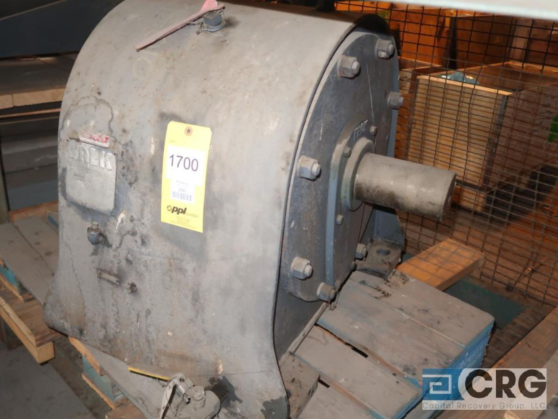 Falk 6C202AS gear drive, ratio-10.31, s/n 120304 (Next Bay Cage Area)