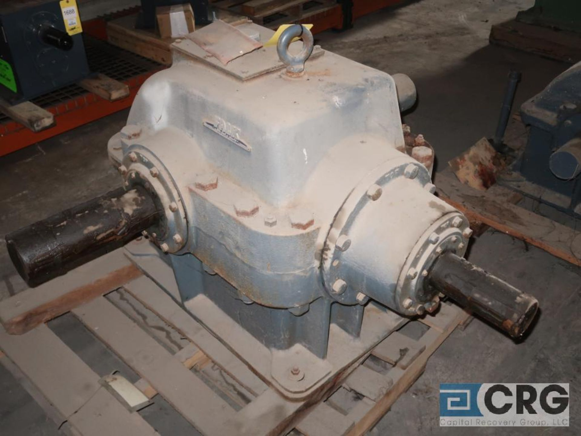 Falk 2100 GH81 KS gear drive, ratio-2.455, input RPM 403, output RPM 164, service rate HP. 232, s/ - Image 2 of 3