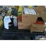 Lot of (4) Aro PDOIP HPS PAA-A diaphragm pumps (Finish Building)