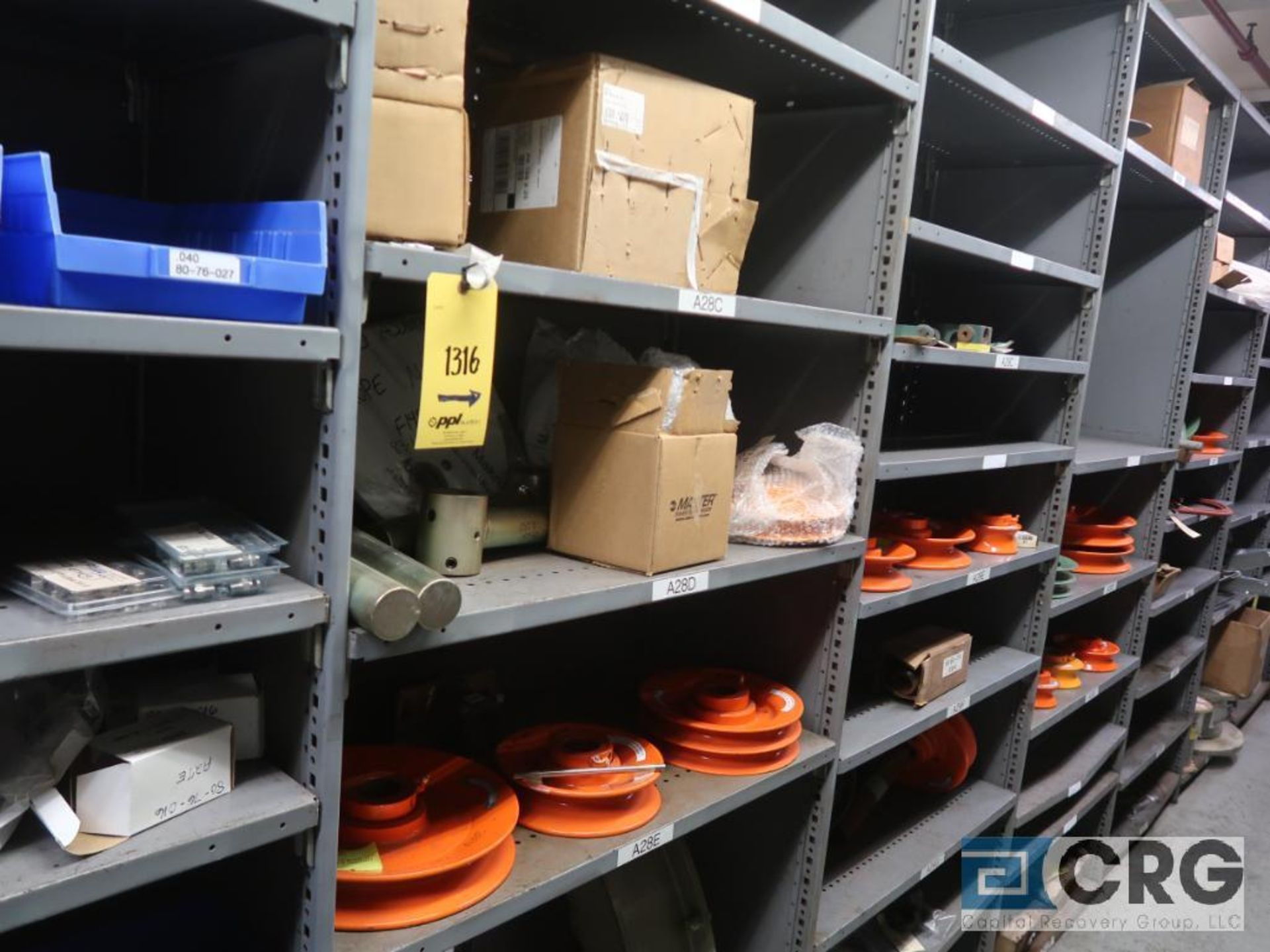 Lot of (14) sections with cable, chain, pulley, and conduit-CONTENT ONLY (Store Basement) - Image 8 of 10