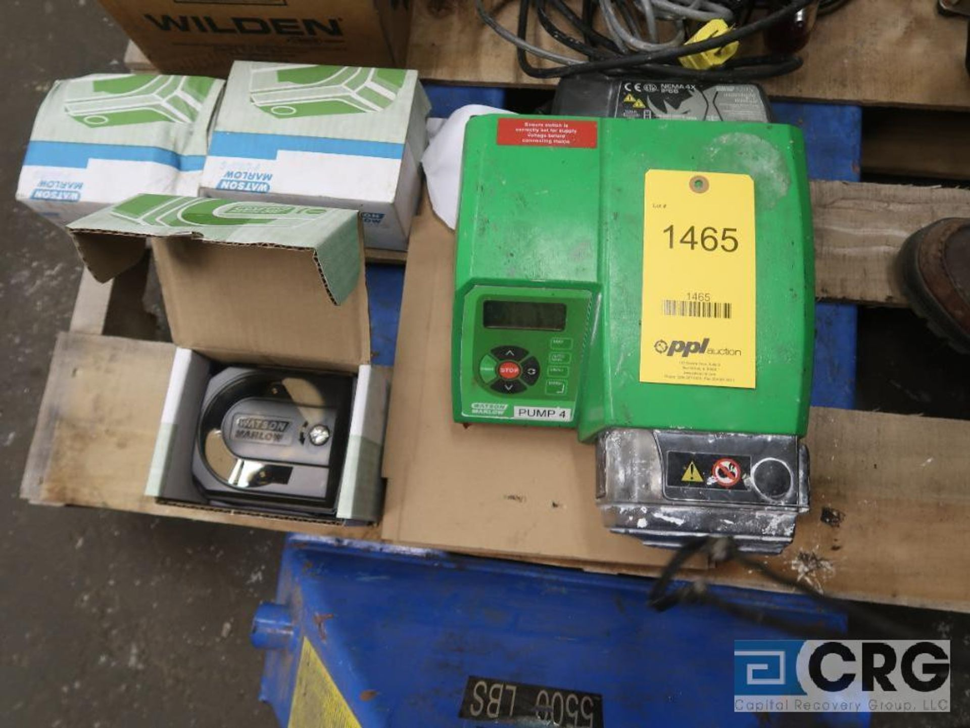 Lot of (7) assorted pumps including (2) vacuum, (2) metering, and (3) diaphragm (Basement Stores) - Image 3 of 3