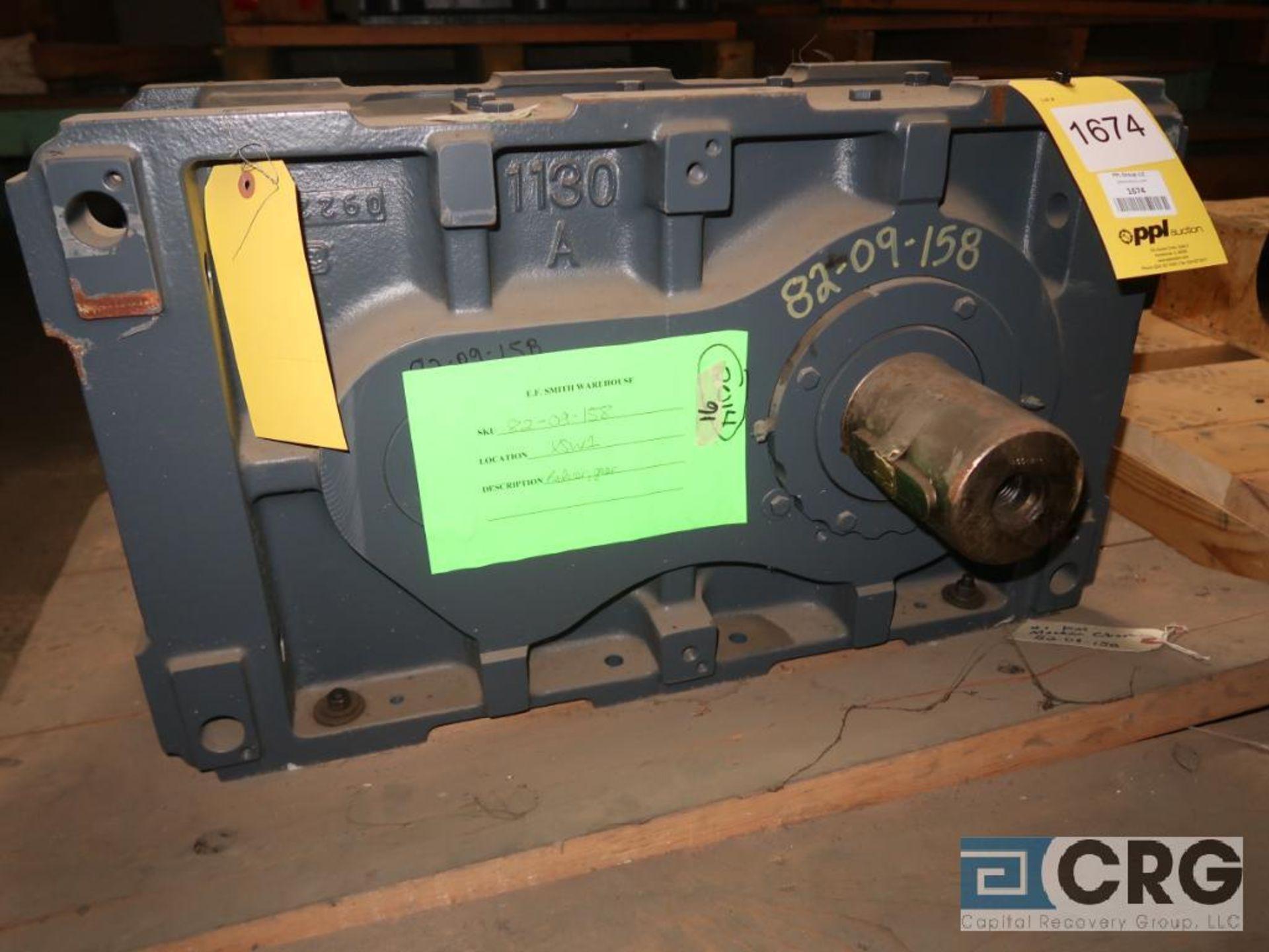 Falk M1130DHC 2A gear drive, ratio-9.932, RPM 1170/117.8, service rate HP. 25, s/n 068444C1 (Next