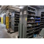 Lot of (135) sections metal shelving (Back of Stores Area)