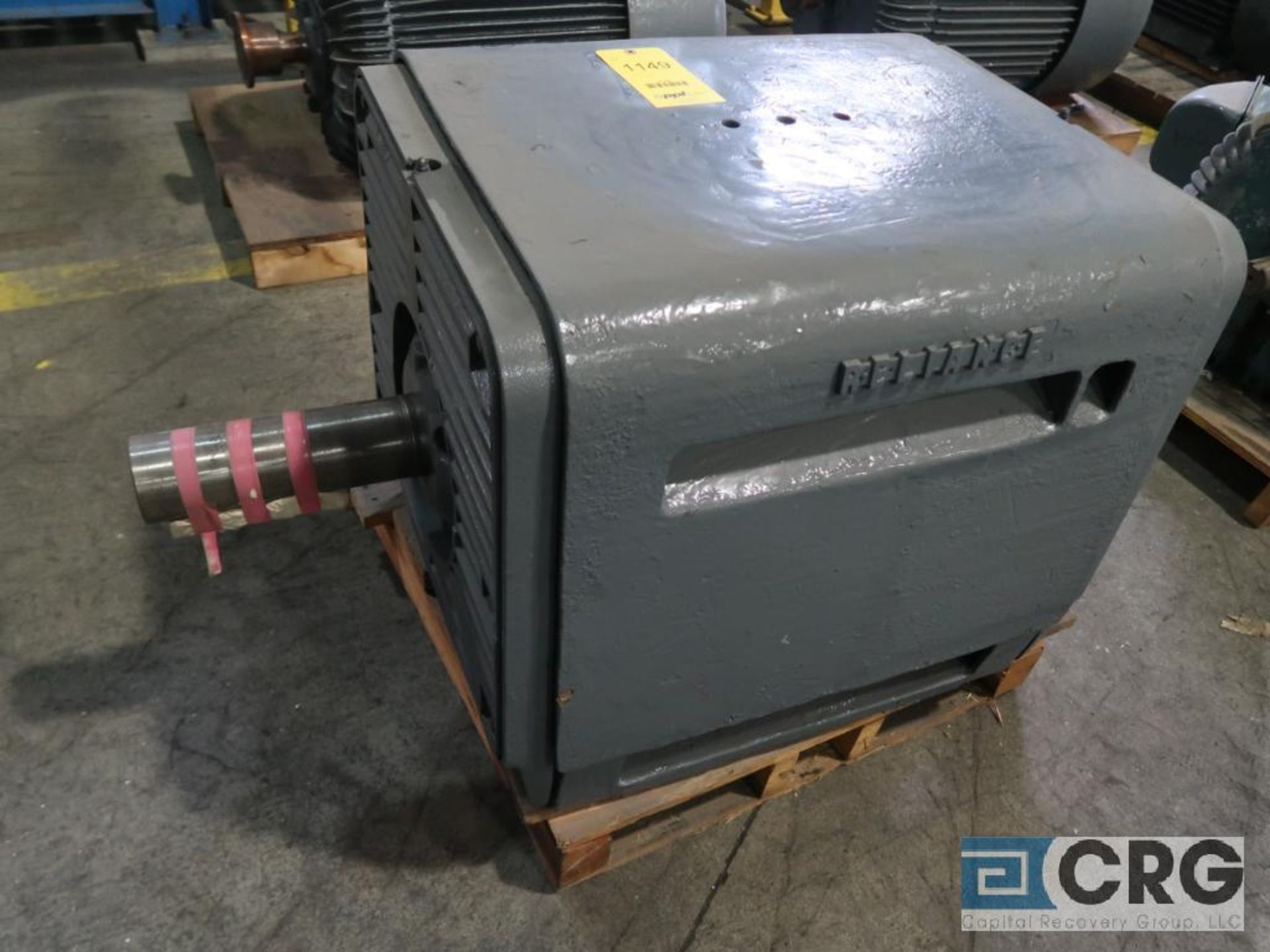 Reliance Duty Master motor, 150 HP, 1,180 RPMs, 208 volt, 3 ph., 5003 frame (Finish Building)