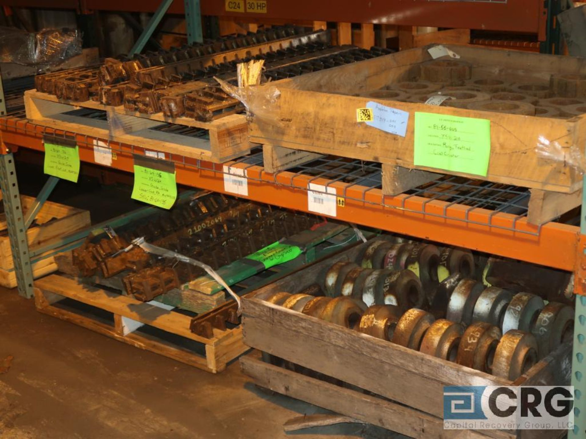 Lot of assorted parts for debarker, coal, and chipper on (29) pallets (Next Bay Cage Area) - Image 14 of 17