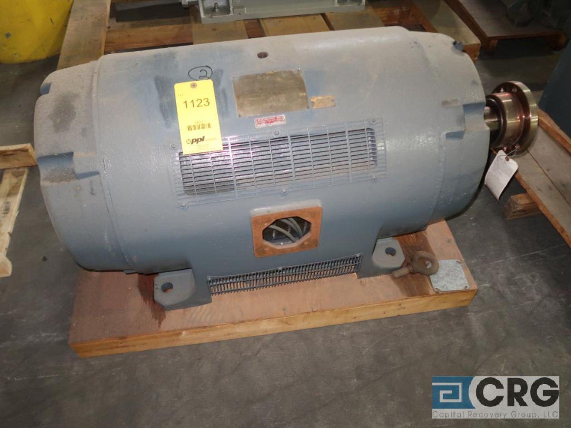 Siemens-Allis induction motor, 300 HP, 1,180 RPMs, 2,300 volt, 3 ph., 449T frame (Finish Building)