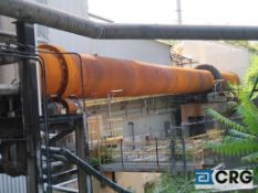 Allis Chalmers 8' diameter X 150' rotary lime kiln with stainless steel auger feed, Coen gas