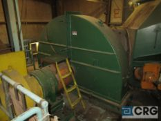 """Complete Chip Building consisting of Metso 84"""" rotary blade chipper with 1,250 HP Siemens"""