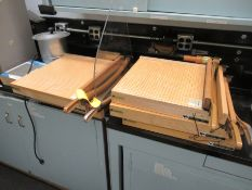 Lot of (3) Ingento paper cutters (Main Lab - Machine Building)