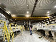 """PM-1 50,000 tons per year, 115"""" maximim real width, 129.5 wire width, 2,450 RPM maximum reel"""